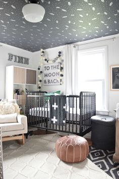 Rocket Ship nursery