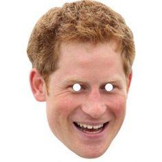 Prince Harry Celebrity Mask