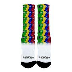 Skittles Stack Sock