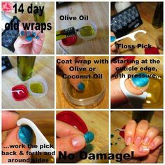 Take off jamberry nails
