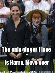 The Inner Duchess of Kate Middleton - Not so close, ginger braids - Not so close, ginger braids. Lmao!!
