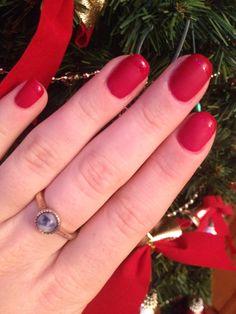 #nails #christmas2013 #mat