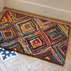 Recycled Saris Rug