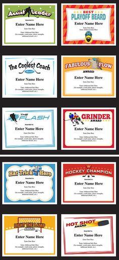 award-certificate-snowwhitejpg 960×720 pixels Awards Pinterest - hockey coach sample resume