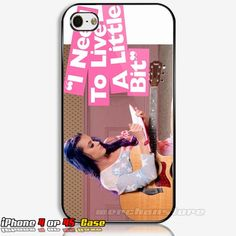 Katy Perry Live A Little iPhone 4 or 4S Case