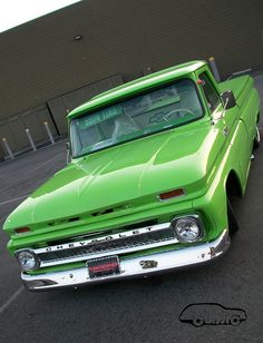 Green Truck Front...Re-Pin brought to you by #ClassicCarInsurance at #HouseofInsurance Eugene Oregon. Ask about agreed value policy(S). 4h