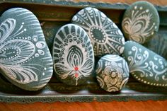 Painted rocks by Anahata Katkin / PAPAYA Inc., via Flickr