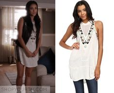 Pretty Little Liars: Season 6 Episode 16 Emily's Embroidered Dress