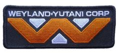 ALIEN Movie Weyland-Yutani Corporation Logo PATCH Main Street 24/7 http://smile.amazon.com/dp/B003NGBR14/ref=cm_sw_r_pi_dp_QTiovb1WF7D75