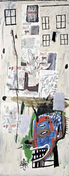 🌀🌀🔸🔻♠️🎨Jean Michel Basquiat ( 1960 - 1988 ) American Neo-Expressionist : More At FOSTERGINGER @ Pinterest🎨♠️♠️🔺🔹