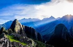 First Rays by Mario Dias on 500px #machupicchu #incas #peru #travel