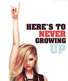 Here's to never growing up Video premieres TOMORROW !