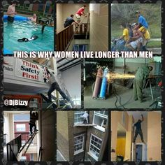 This is why women live longer than men. Hall of fame!