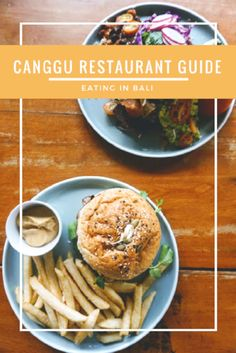 Restaurant guide for dining in Canggu (Bali, Indonesia) by @tavernatravels