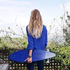 Watermelon Crush, Penny Boards, Skate Girl, Skate Style, Longboards, Skateboards, Portrait, Beauty, Girls