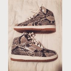 NIKE air Python PRM. Limited item! 7M fits 8.5W These are Mens size 7 but will fit a size 8-8.5 in women's! Condition is almost brand new. Nike Shoes Sneakers