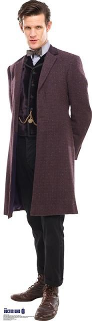 Matt Smith, the 11th Doctor: Fictional Men Who Make Long Coats Sexy