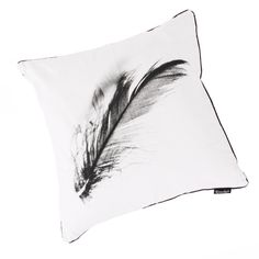 A feathery pillow, made for Kremmerhuset Ting & Sånt as