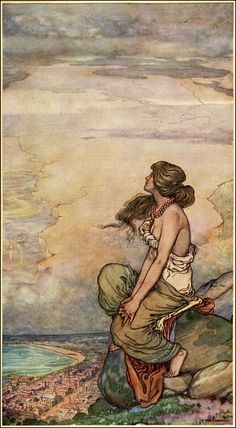 W. Heath Robinson 1872 ~ 1944  A Song of the English by Rudyard Kipling Published by  Doubleday ~ 1909