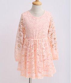 """GIAVANA"" Pink Lace Dress"