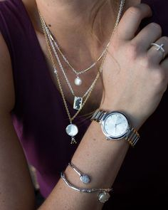 #Silpada Mixed Metal and Pearl: Sleek and Chic #WomensFashion