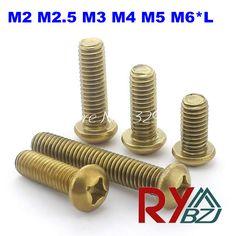 $4.50 (Buy here: https://alitems.com/g/1e8d114494ebda23ff8b16525dc3e8/?i=5&ulp=https%3A%2F%2Fwww.aliexpress.com%2Fitem%2FM2-5-Brass-Round-Head-Cross-recessed-pan-head-Machine-Screws-Brass-Round-Head-Screw-M2%2F1919625723.html ) M2/M2.5/M3/M4/M5/M6*L  Brass Phillips Round Head Machine Screws / Pan Head Brass GB818 Set for just $4.50