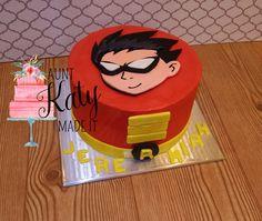 Aunt Katy Made It: Teen Titans Go! Cake