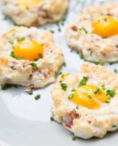 Use only four ingredients to make these Eggs on Clouds.