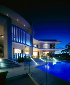 The Seafarer Residence in Surfers Paradise, Australia by Jared Poole
