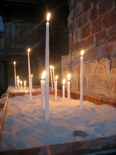Prayer Candles in Lithuania
