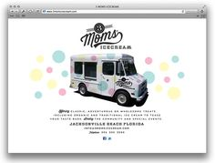 3 Moms Ice Cream - Identity Design by Funnel aka Eric Kass