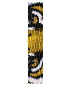 Peyote Bracelet Pattern  Eye of the Tiger Buy 2 by KFSDesigns, $6.50