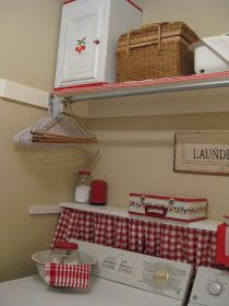 My laundry room really isn't a room, but a walk through to the garage from the house. It's where we come in from the car and leave from. Wh...