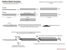 Hidden Blade Template by Enbahan on DeviantArt