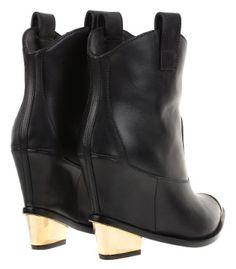 #Botines camperos con cuña de #GiuseppeZanotti #BOGUE #Footwear #AnkleBoots