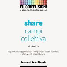 Filodiffusioni • il sound della partecipazione  Materiale informativo per Comune di Campi Bisenzio Firenze • Graphic designer Sonia Squilloni 2014