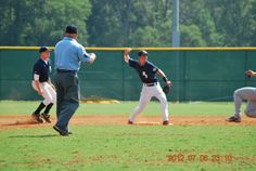 Turning two at the Perfect Game Showcase in East Cobb, GA; circa 2012.