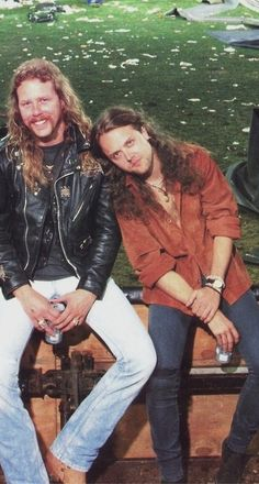 James Hetfield & Lars Ulrich                                                                                                                                                                                 Mehr