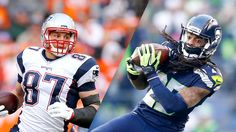 Q&A: Sherman, Gronk on NFL's best QB, Tinder, the next cruise, more