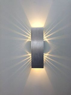 Gweat 2W Modern LED Wall Light With Scattering Light Design 2 Cubic Shades Gweat LED Lamp http://www.amazon.co.uk/dp/B00W1MMAW6/ref=cm_sw_r_pi_dp_1y8gwb08H19JS
