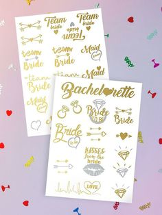 This is everything you need for your bachelorette party weekend.