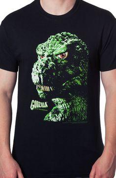 Godzilla T-Shirt: Non 80s Movies: Officially Licensed Godzilla Shirts