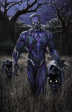 Incredible Black Panther Illustration by Rob Brunette