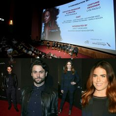 "@jackfalahee and @karlasouzaofficial were also in attendance at the premiere  of season three of ""How To Get Away With Murder"" on Tuesday (20) in Los Angeles. #HTGAWM  • • • • • • • • • • • • • • • • • • • • • • • • • • • • •  #JackFalahee e #KarlaSouza também estiveram presentes na estréia da terceira temporada de ""How To Get Away With Murder"" nesta terça-feira (20), em Los Angeles. #HTGAWM"