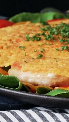 Chicken Breast With Crispy Cheese- There's more than one way to pan-cook a chicken breast, and this one will satisfy your crunchy cheese craving too. Tasty Videos, Food Videos, Indian Food Recipes, Asian Recipes, Thai Recipes, Salmon Recipes, Easy Cooking, Cooking Recipes, Cooking Twine