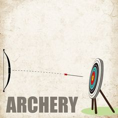 Archery Digital Scrapbooking. Instant by ScrapbookCustoms1 on Etsy