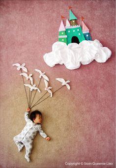 Diese Mutter schickt ihr Kind im Schlaf auf traumhafte Abenteuer