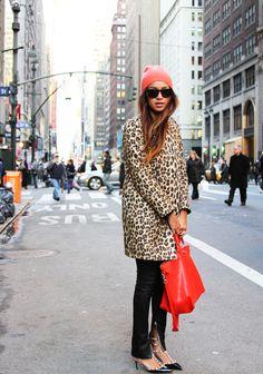 Coat: Zara, Heels: Valentino, Bag: Marc Jacobs, Sunglasses: Marc Jacobs