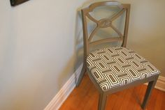 easy chair makeover - good thrifting idea