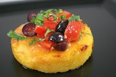 I've been wanting polenta recipes for a while now, they bring back memories of when I was younger.